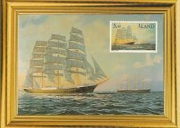 ÅLAND 1999 50 Years Of The Wheat Trade/Vetetraden 50 år: Postcard MINT/UNUSED - Ålandinseln