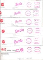 7 EMA FRANCE POUPEE PUPPEN PUPEN BARBIE MATTEL ORLY RUNGIS - Dolls
