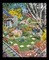 Australia 2019 Mih. 4966/70 (Bl.446) In The Garden. Flora And Fauna. Birds. Butterflies. Frogs. Bees. Flowers MNH ** - 2010-... Elizabeth II