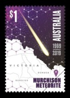 Australia 2019 Mih. 5004 Space. Murchison Meteorite MNH ** - 2010-... Elizabeth II