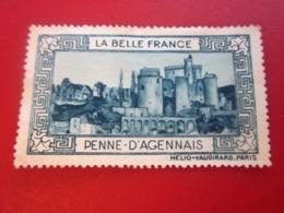 PENNE D'AGENAIS   LA BELLE FRANCE TIMBRE Tourisme (Vignettes) VIGNETTE  Erinnophilie - Erinnofilia