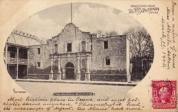41/ Greetings From San Antonio Texas, The Alamo, Built 1718 - San Antonio