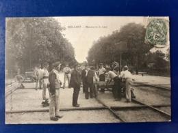 ► BEILLANT MANOEUVRE DU LORY   CHEMIN DE FER GARE - France
