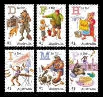 Australia 2019 Mih. 4998/5003 Fair Dinkum Aussie Alphabet (V) MNH ** - 2010-... Elizabeth II