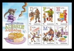 Australia 2019 Mih. 4998/5003 (Bl.449) Fair Dinkum Aussie Alphabet (V) MNH ** - 2010-... Elizabeth II