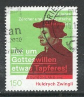 Duitsland, Mi 3464 Jaar 2019,  Huldrych Zwingli,  Hogere Waarde,  Gestempeld, - [7] République Fédérale