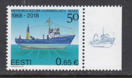 Estland 2018.Research Vessel Mare. MNH. - Estonia