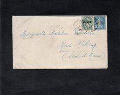 LAC 1925 - Cachets  TLEMCEN - ORAN  Sur YT 6 & YT 14 - Briefe U. Dokumente
