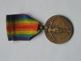 Décoration Médaille Interalliée 1914-1918 - Belgique    **** EN ACHAT IMMEDIAT **** - Belgique