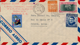 GUATEMALA - 1946 , Brief Nach Genf / CH - Guatemala