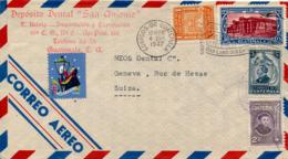 GUATEMALA - 1947 , Brief Nach Genf / CH - Guatemala