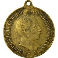 Allemagne, Médaille, Friedrich, Wilhelm II, Rois De Prusse, TTB, Bronze - Deutschland