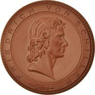 Allemagne, Médaille, Friedrich Von Schiller, Weimar, FDC - Deutschland