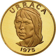 Monnaie, Panama, Centesimo, 1975, Franklin Mint, FDC, Copper Plated Zinc - Panama