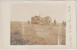 CPA   CARTE PHOTO  MAI 1913 LA MOTO CHARRUE STOCK  PHOTOGRAPHE MULOT PARIS  TTB - Tracteurs