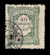 ! ! Portugal - 1922 Postage Due 40 C - Af. P 38 - Used - Port Dû (Taxe)
