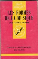 André Hodeir - Les Formes De La Musique. - Musique