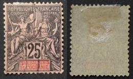 Océanie 1892 # 8 - Oblitérés