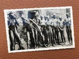 1 C Photo Rare Nu Afrique Dahomey - Types Sombas De Natitingou - Collection Labitte - Dahome