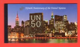 NATIONS-UNIES - 1995 - NEW-YORK - Yvert C 680 - NEUFS** LUXE/MNH - CARNET DE PRESTIGE COMPLET - Markenheftchen