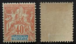Océanie 1892 # 10 (40 C) - Nuovi