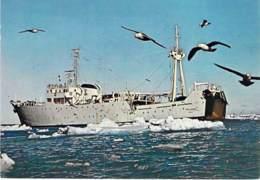 """NAVIRE OCEANIGRAPHIQUE """" THALASSA """" ( France )  CPSM CPM GF - Bateau Ship Boat Trip Boote Boten Barcos Barche - Bateaux"""