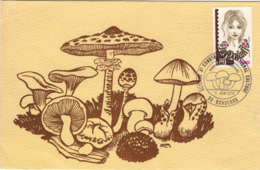 FRANCE 2003 FDC 10ème Congrès Science Et Culture Champignons Comestibles Mushroom Pilze Bordeaux [GR] - Cartes-Maximum
