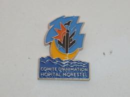 Pin's BATEAU, COMITE D ANIMATION HOPITAL MORESTEL - Medizin