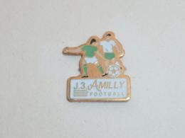 Pin's FOOTBALL, J. 3 AMILLY - Fussball