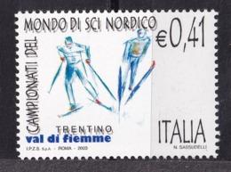 Italy, 2003- Campionati Del Mondo Di Sci Nordico, Val Di Fiemme. MintNH - Skiing