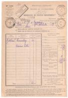 LOUGA Sénégal Conakry Guinée 1929 Bordereau Valeur Réexpédiée Recouvrement Formule 1499 Frais Non Matérialisés/document - Madagascar (1889-1960)