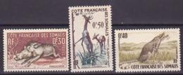 Côte Somalis N° 287-288-289 Neufs ** - Voir Verso & Descriptif - Neufs
