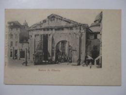 CPA CPSM CP CARTOLINA ITALIE ITALIA LAZIO LATIUM ROME ROMA V1910 - PORTICO DI OTTAVIA / PORTIQUE D'OCTAVIE - TBE - Roma (Rome)