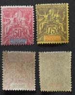 Océanie 1892 # 11 - 12a - Neufs