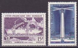 Côte Somalis N° 285-286  Neufs ** - Voir Verso & Descriptif - Neufs