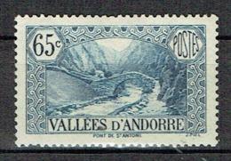 Paysage De La Principauté : Pont De Saint-Antoine - Andorra Francesa