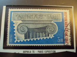 "1970-79  Timbre Oblitéré N°  1835 "" ARPHILA 75-    3.00 F ""    Net  0.70 - Usados"
