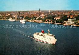 73229444 Schiffe_Ships_Navires Kiel Oslo-Kai Schiffe_Ships_Navires - Schiffe