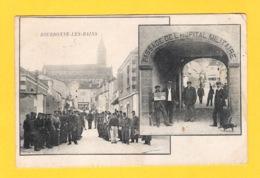 ACHAT IMMEDIAT - BOURBONNE LES BAINS - Animé - Passage De L'hôpital Militaire - Bourbonne Les Bains