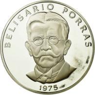 Monnaie, Panama, 5 Balboas, 1975, U.S. Mint, Proof, FDC, Argent, KM:40.1a - Panama