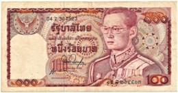 THAILAND - 100 Baht - ND ( 1978 ) - Pick 89 - Sign. 53 - Serie 04 Z - King Rama IX - Thailand