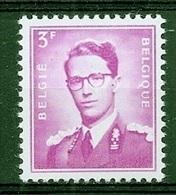 BELGIE Boudewijn Bril * Nr 1067 P3a * Postfris Xx * FLUOR  PAPIER - 1953-1972 Lunettes