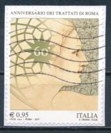 °°° ITALIA 2017 - ANNIVERSARIO DEI TRATTATI DI ROMA °°° - 6. 1946-.. República