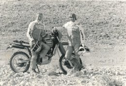 Rallye Paris Dakar 1985 - Team Gauloise Yamaha Jean Claude Olivier Et ? - Sports