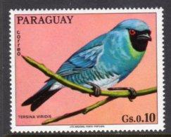 PARAGUAY - 1973 10c WILDLIFE BIRD STAMP FINE MNH ** Mi 2488 - Paraguay