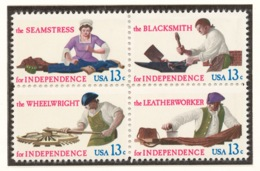 United States 1977 Mi# 1305-08** SKILLED HANDS FOR INDEPENDENCE - United States