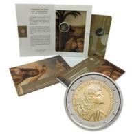 "San Marino (Saint Marin) 2019 : 2 Euro Commémorative ""500 Ans De La Mort De Vinci"" (en Coffret BU) - DISPO EN FRANCE - San Marino"