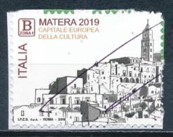 °°° ITALIA 2019 - MATERA - CAPITALE EUROPEA DELLA CULTURA °°° - 6. 1946-.. Repubblica
