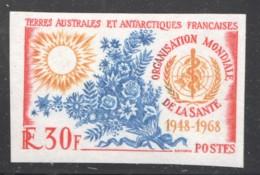 1968  20è Ann. De L'OMS  Yv 26 ** Non Dentelé - Imperforates, Proofs & Errors