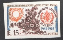 1968  20è Ann. De L'OMS  Yv 336  ** Non Dentelés - Afars Et Issas (1967-1977)